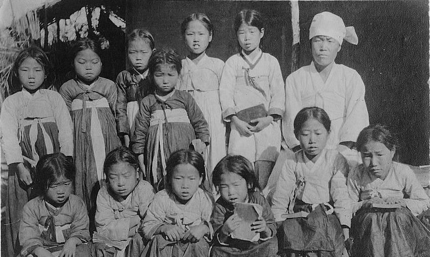 Girls Class Syen Chin Korea