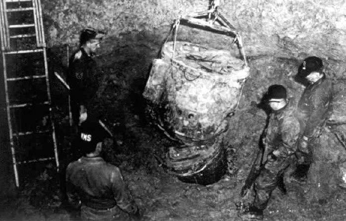 Goldsboro Buried Bomb
