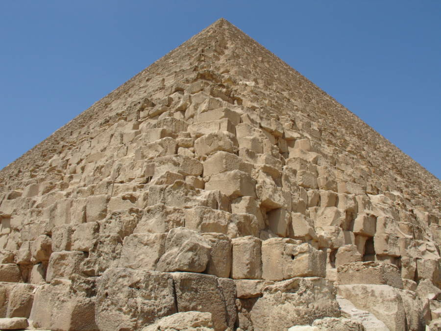 Great Pyramid Stones