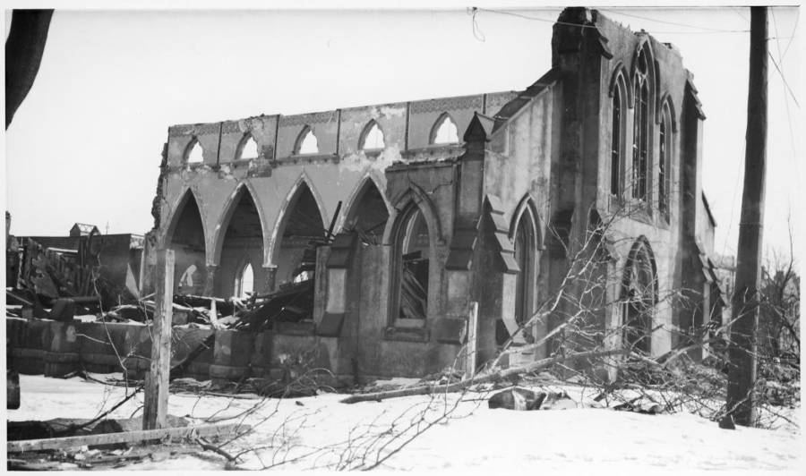 Halifax Explosion Destroyed Church