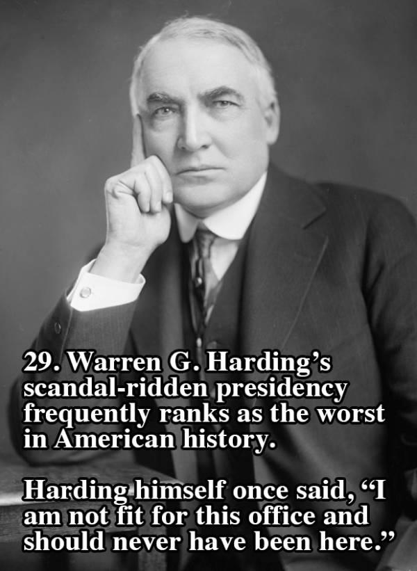 Harding Worst