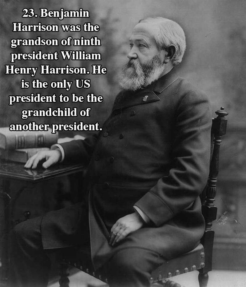 Harrison U.s. Presidents Facts