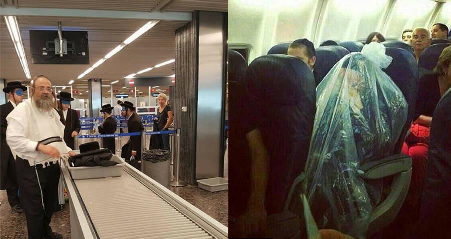 Hasidic Travelers