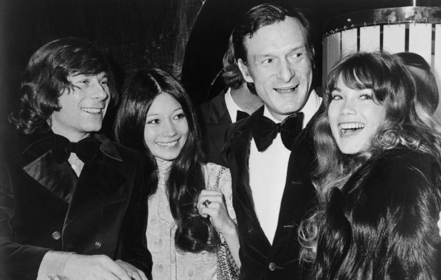 Hefner With Polanski