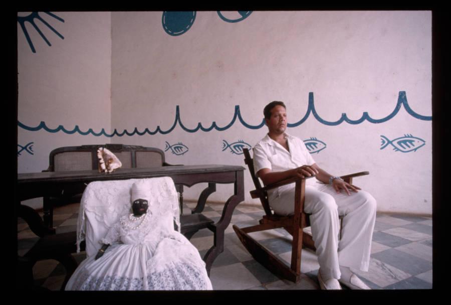 Santeria High Priest Chair