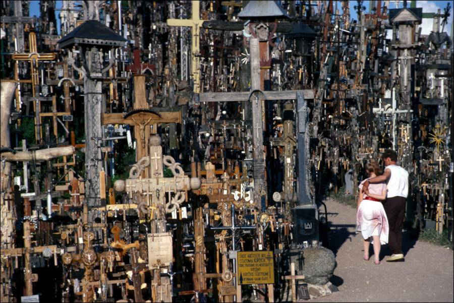 Hill Of Crosses People