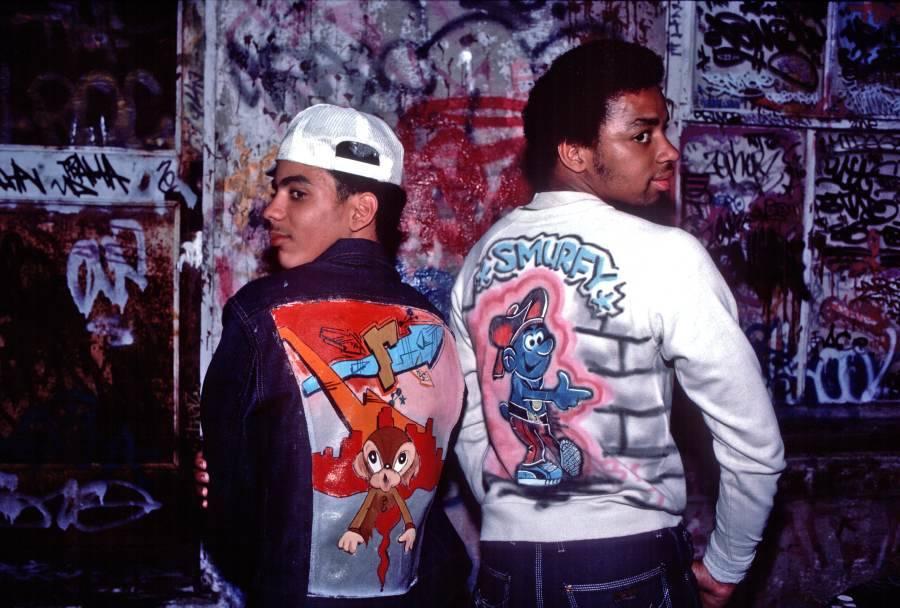 Hip Hop Fashion Graffiti Art