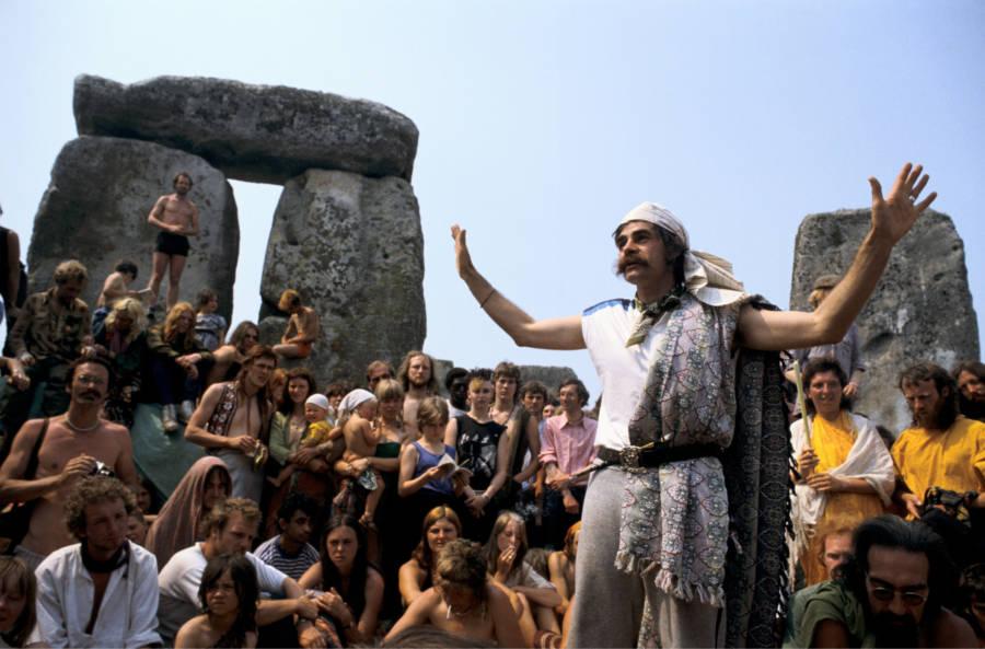 Hippies Stone Henge