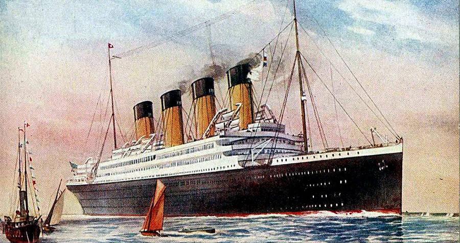 HMHS Britannic postcard