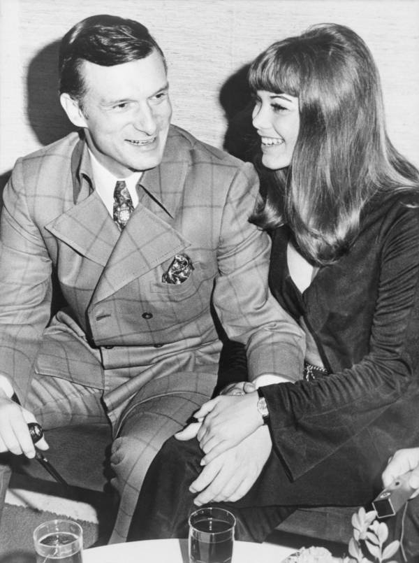 Hugh Hefner With Barbara Benton