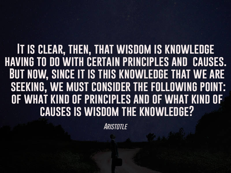 Interesting Question From Aristotle