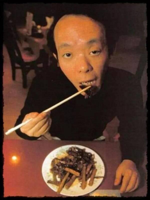Issei Sagawa Eating