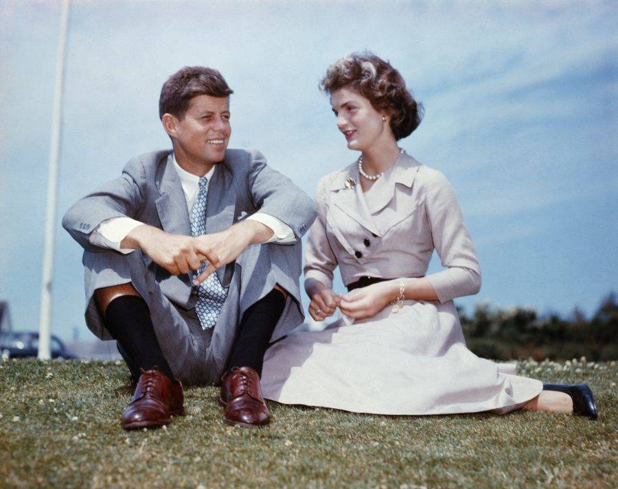 Jack Kennedy And Jacqueline Bouvier