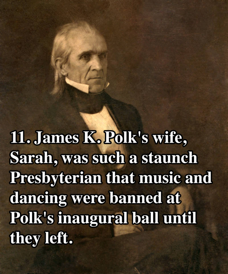James Polk Presidential Facts