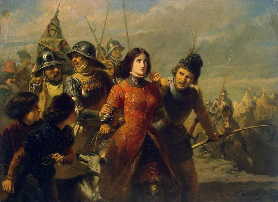 Joan of Arc captured