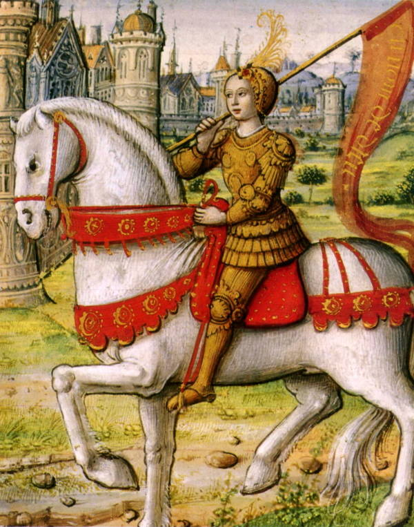 Joan Of Arc on a Horse