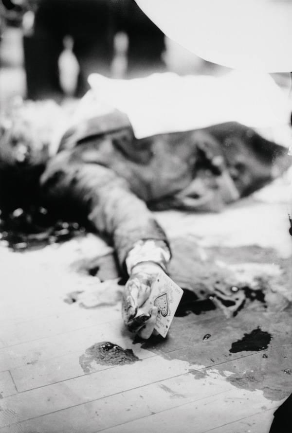 Joe Masserias Murder Scene