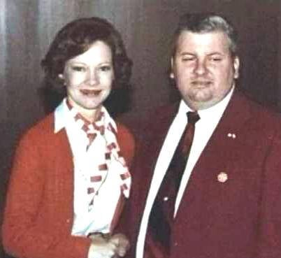 John Wayne Gacy With Rosalynn Carter