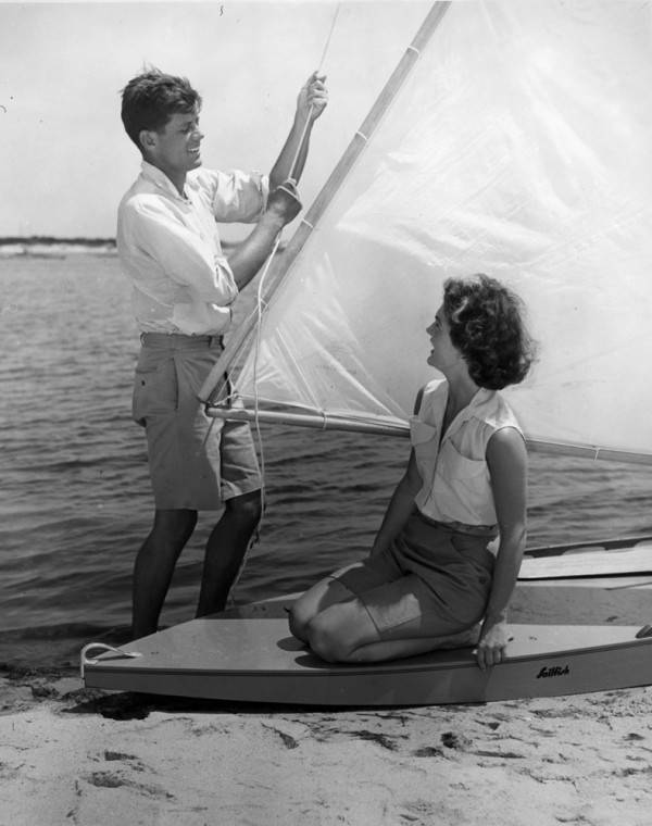 Kennedy Couple Sailboat