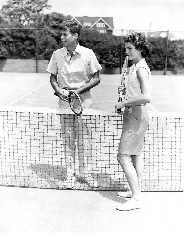 Kennedy Couple Tennis Court