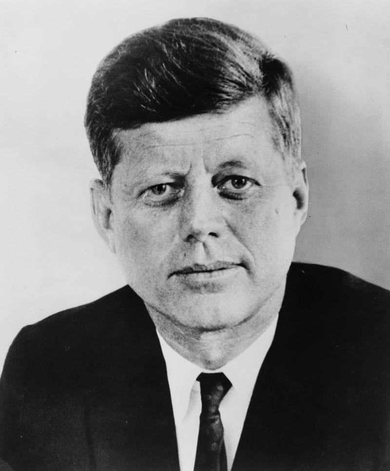 Kennedy Portrait Face