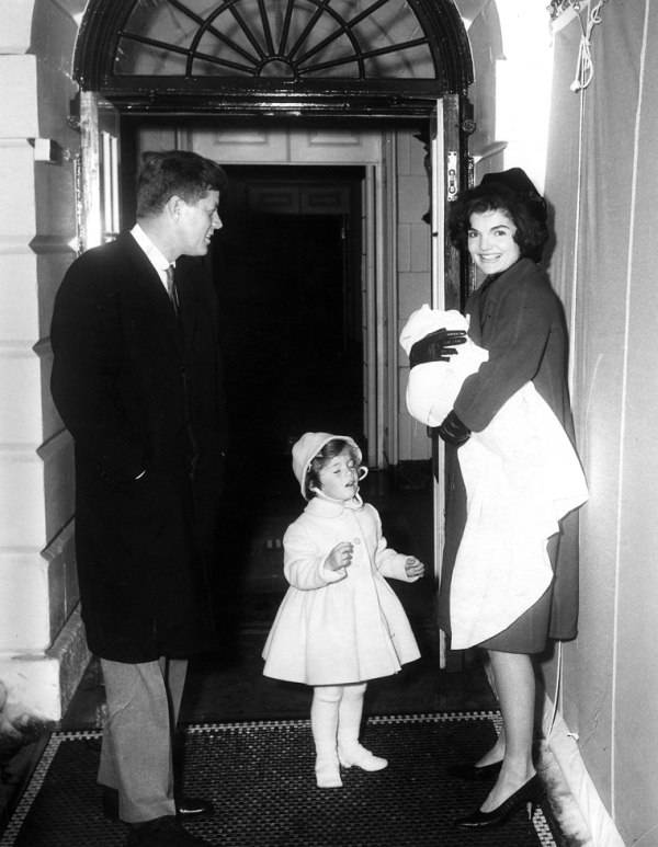 Kennedys At The White House