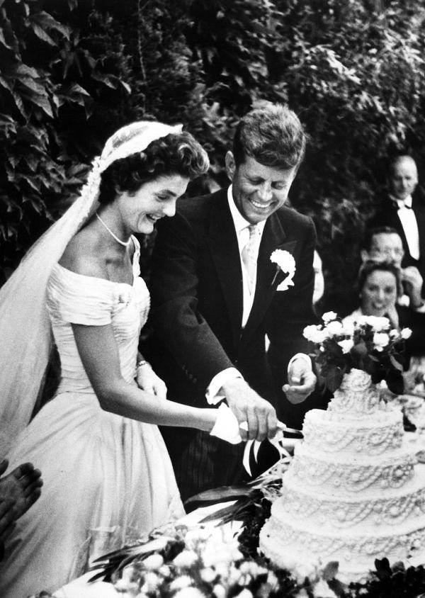 Kennedys Cutting Cake