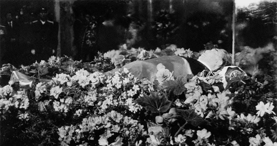 Kim Il-sung's body