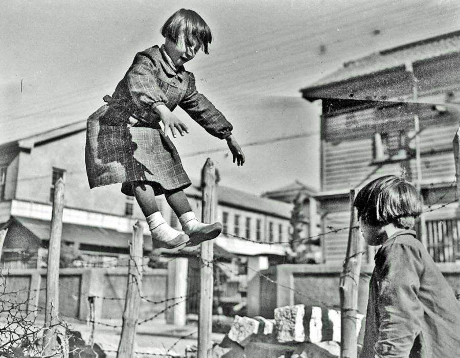 Korean Children Playing