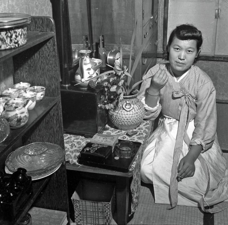 Korean Teahouse In Seoul