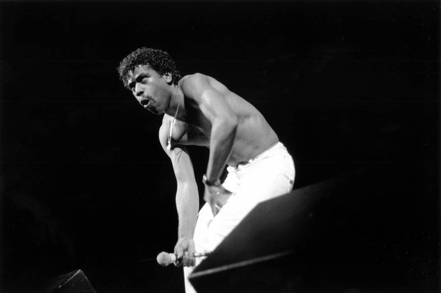 Kurtis Blow Performing