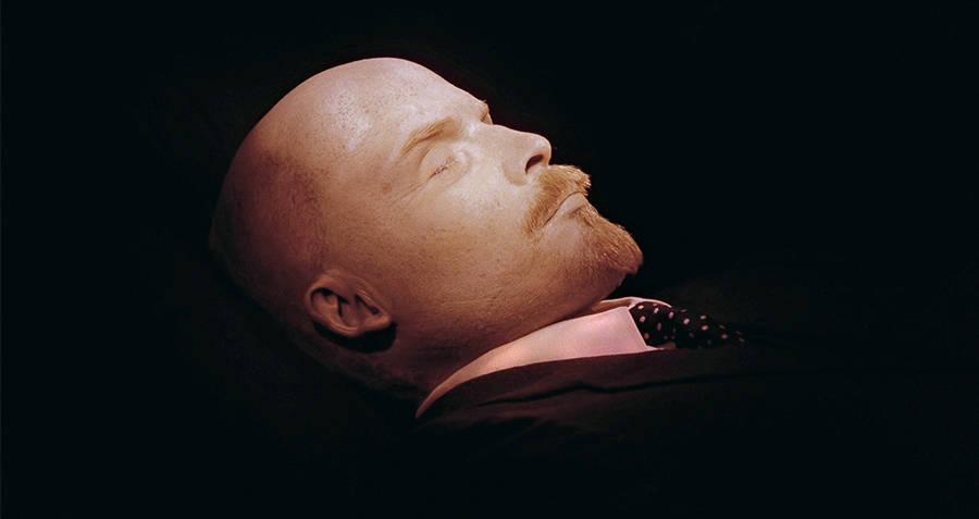 Vladimir Lenin's Corpse