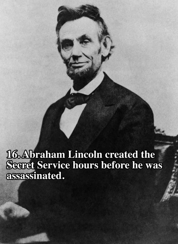 Lincoln U.s. Presidents Facts