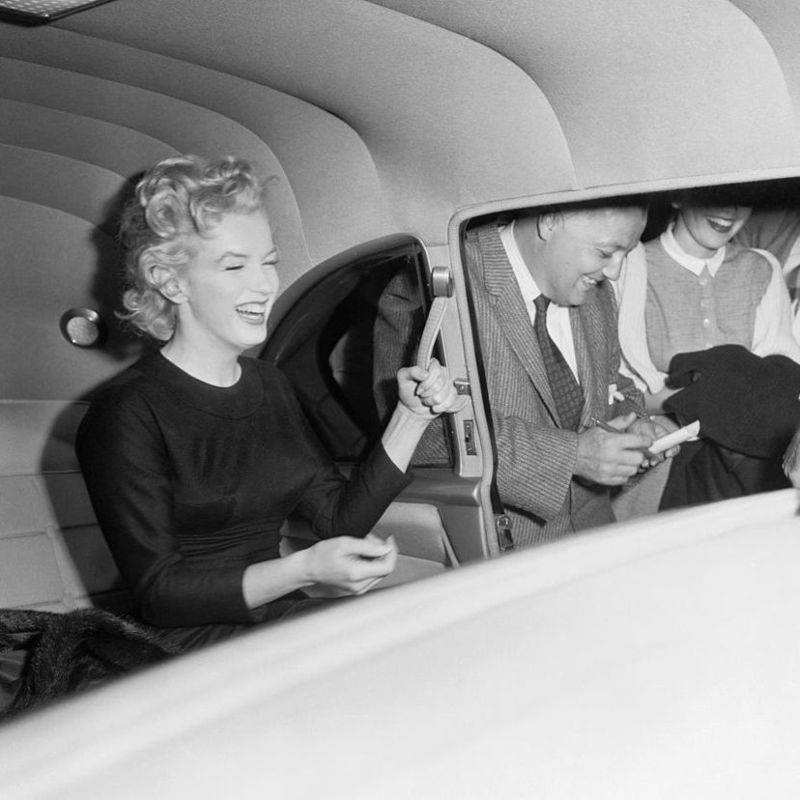 Marilyn Monroe Laughing