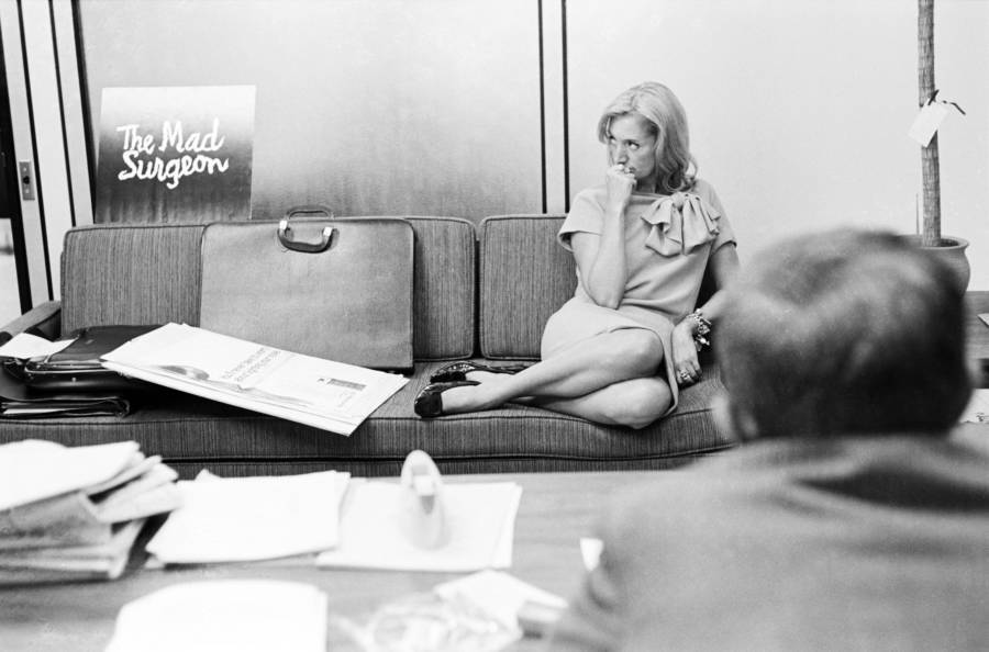 Mary Wells Lawrence Sitting