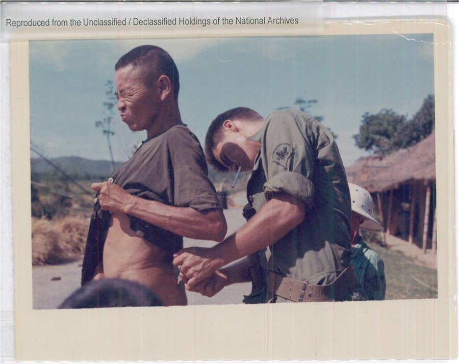 Medic Administering Vaccination
