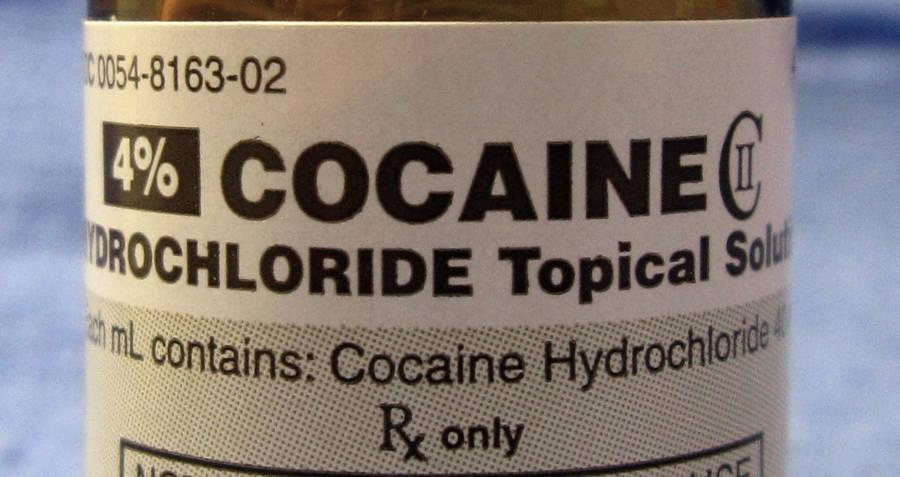 Medical Heroin Cocaine Bottle
