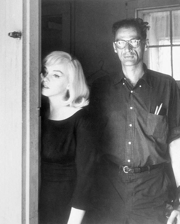 Monroe And Her Husband