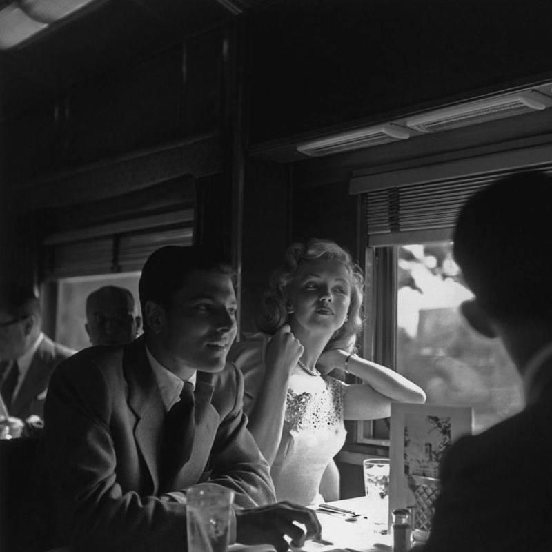 Monroe Fixing Her Hair