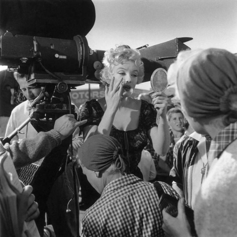 Monroe On Set Makeup