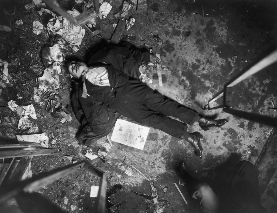 Murder Scene Above