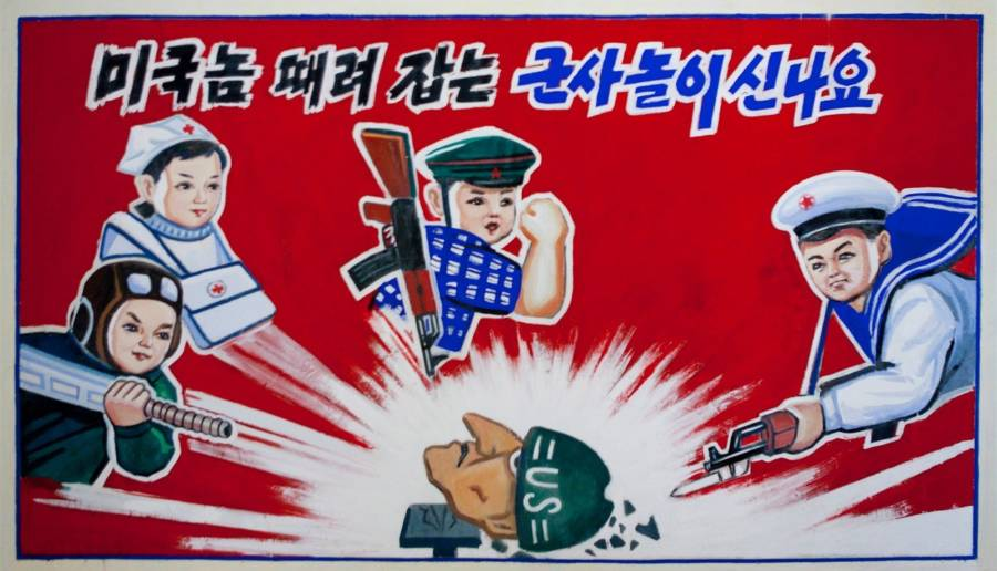 North Korean Propaganda For Children