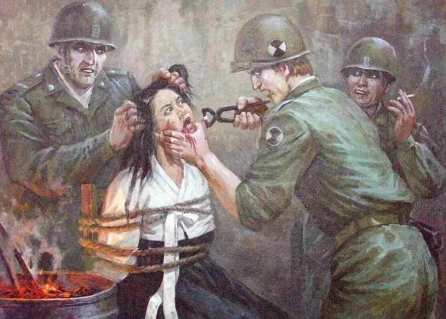 North Korean Propaganda Torture
