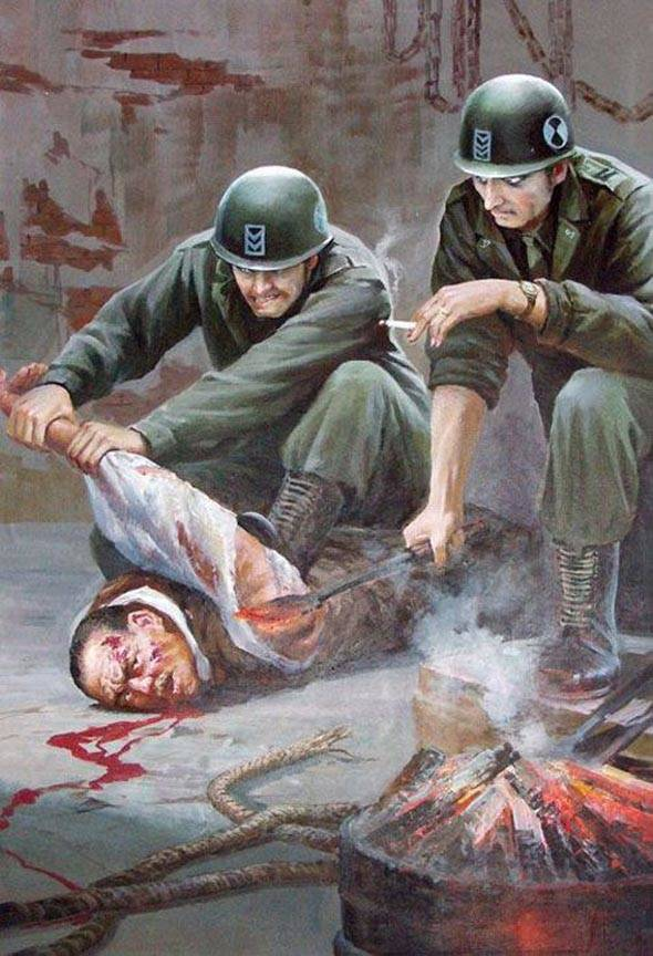 Soldiers Torturing North Koreans
