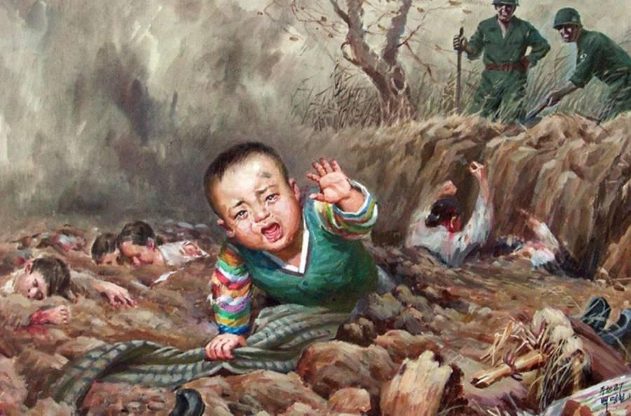 North Korea Baby Grave