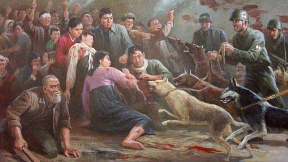North Korean Propaganda Dogs