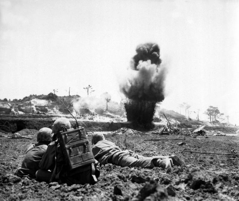 Marines in the Battle of Okinawa