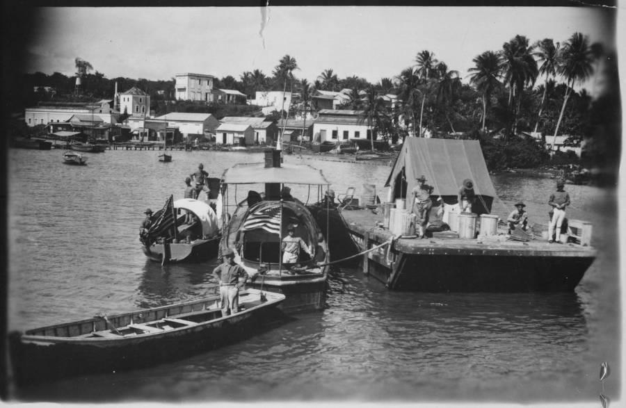 Marine patrol boats