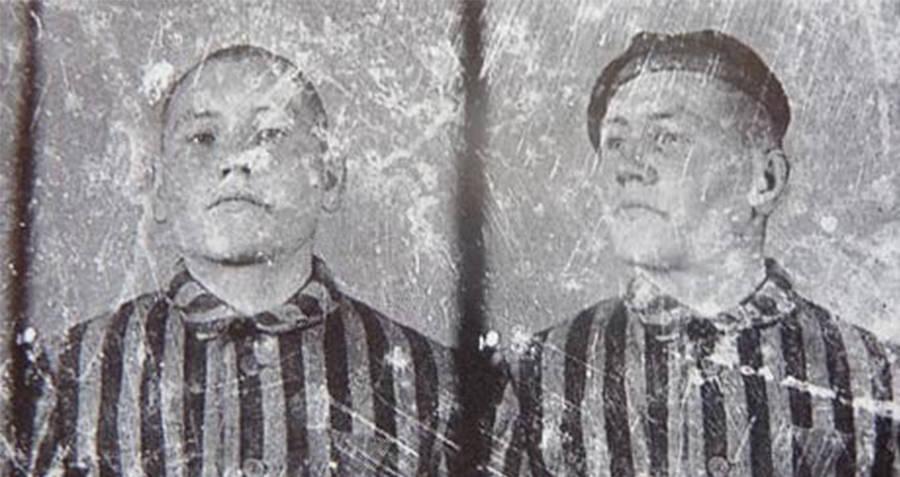 Kazimierz Piechowski Auschwitz photo