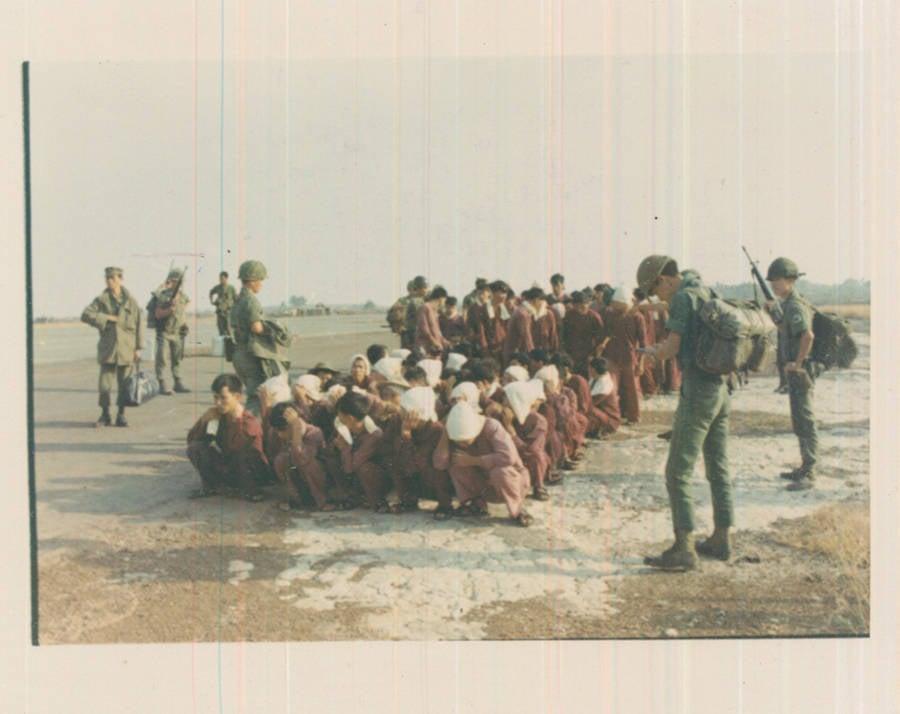 Prisoners Wait For Transfer